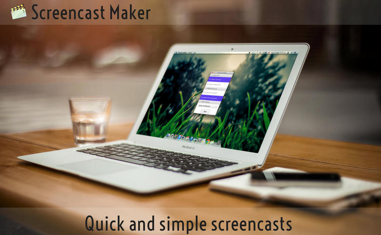 Screencast Maker - A Great inexpensive screencasting tool for Mac users