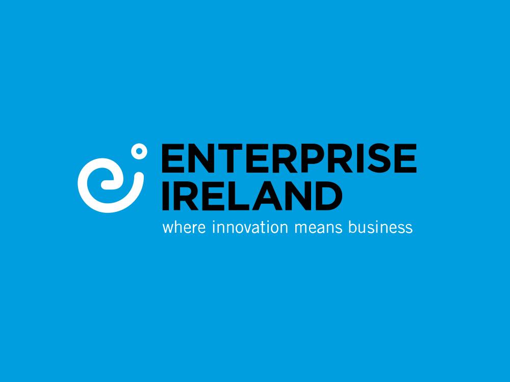 Client logo for Enterprise Ireland